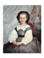 Portrait of Mademoiselle Romaine Lacaux, 1864