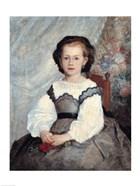 Portrait of Mademoiselle Romaine Lacaux, 1864