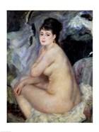 Nude Seated on a Sofa, 1876