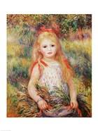 The Little Gleaner, 1888