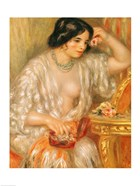 Gabrielle with Jewellery, 1910