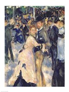 Ball at the Moulin de la Galette, 1876 - close up