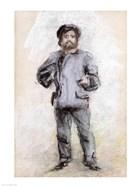 Portrait of Claude Monet - standing