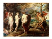 The Judgement of Paris - dark colors