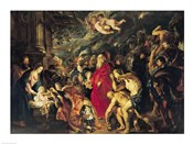 Adoration of the Magi, 1610