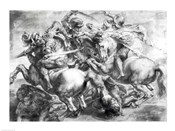 The Battle of Anghiari after Leonardo da Vinci