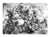 The Battle of Anghiari after Leonardo da Vinci