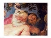 Drunken Silenus Supported by Satyrs