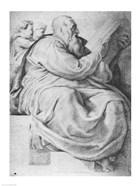 The Prophet Zacharias, after Michangelo Buonarroti