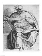 The Prophet Joel, after Michangelo Buonarroti