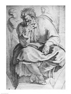 The Prophet Jeremiah, after Michangelo Buonarroti