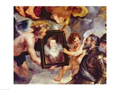 The Medici Cycle: Henri IV  Receiving the Portrait of Marie de Medici