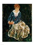 The Artist's wife seated