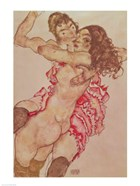 Two Women Embracing, 1915