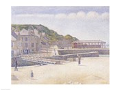 The Harbour and the Quays at Port-en-Bessin, 1888