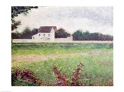 Landscape in the Ile-de-France, 1881-82