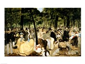 Music in the Tuileries Gardens, 1862