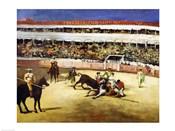 Bull Fight, 1865