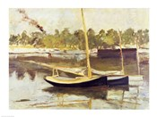 Study of a boat at Argenteuil, 1874