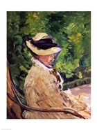 Madame Manet at Bellevue
