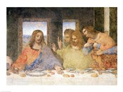 The Last Supper, (post restoration) A