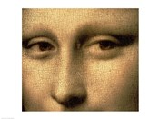 Mona Lisa, Face Detail