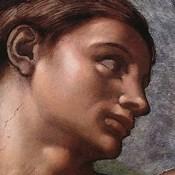 The Creation of Adam (Adam detail)
