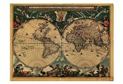 World Map 1664