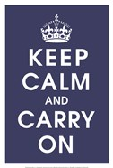 Keep Calm (navy)