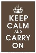 Keep Calm (chocolate)