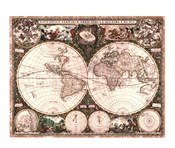World Map, 1660