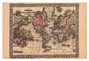 Map of the World, 1867