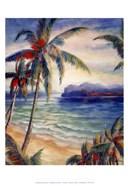 Tropical Breeze I - palm trees