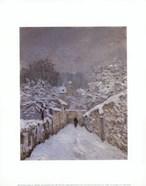 Snow at Louveciennes, France, 1878