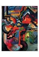 Colored composition (Hommage a` Sebastin Johann Bach)