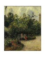 Corner of a Garden at the Hermitage, 1877