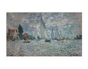 The Sailboats - Boat Race at Argenteuil, c. 1874