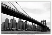 Manhattan from Brooklyn (b/w)