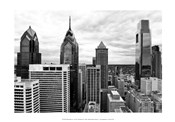 Philly Skyline (b/w)