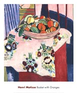 Basket with Oranges