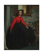 Portrait of Mademoiselle, called Girl with Red Vest, February 1864