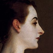 Madame X (head detail)