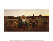 The Return of the Gleaners, 1859