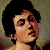 Boy with a Basket of Fruit (detail)