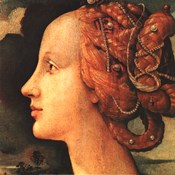 Portrait of Simonetta Vespucci (detail)