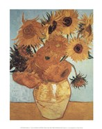 Sunflowers on Blue, 1888