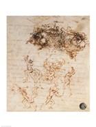Study of Horsemen in Combat and Foot Soldiers, 1503