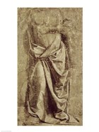 Drapery Study for a Standing Figure Seen from the Front