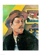 Self Portrait in a Hat
