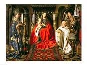 Madonna and Child with Canon Joris van der Paele, 1436